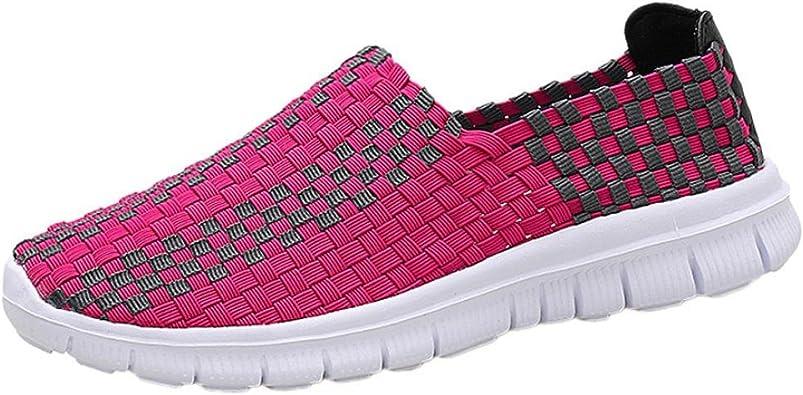 Zapatillas de Deporte para Mujer Otoño 2018 PAOLIAN Zapatos de Plano Dama Negras Casual Deportivo Cómodo Moda Señora Senderismo Aire Libre y Deporte Calzado de Trabajo: Amazon.es: Zapatos y complementos