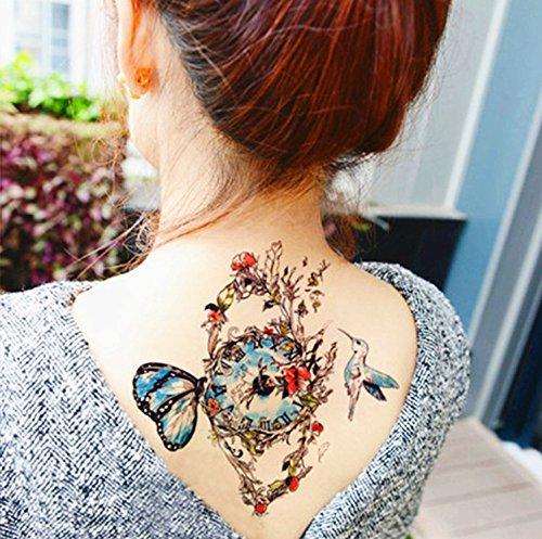 DaLin Temporary Tattoos 4 Sheets (Bird)