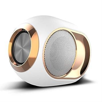AMZIJ Pequeño Sonido Altavoz Bluetooth Bajo Inalámbrico ...