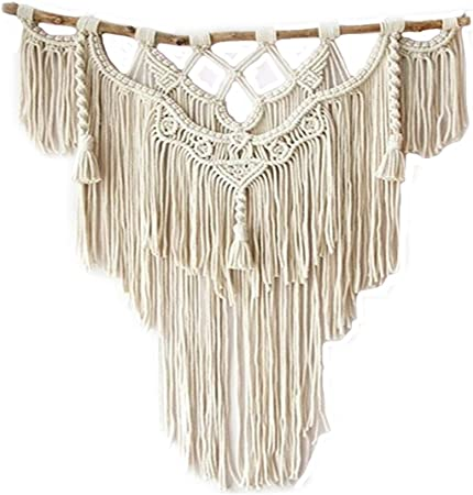 Wove Bohemian Tapestry Macrame Handmade Wall Hanging Home Wall Decorations Gifts