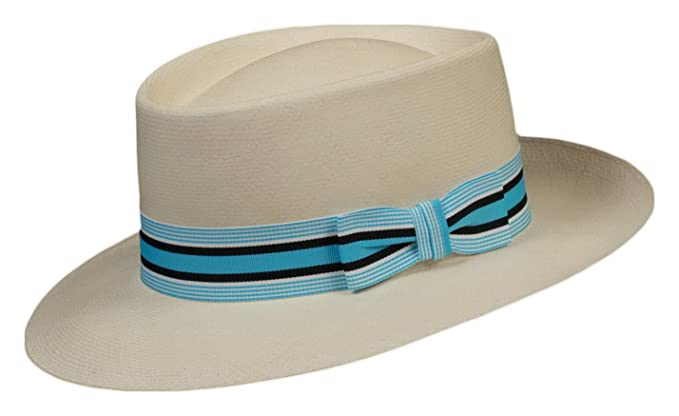 9b3cd48b3 Grosgrain Hat Band (Fancy Stripes) (Baby Blue Blankett) at Amazon ...