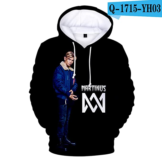Amazon.com: WEEKEND SHOP Marcus &Martinus 3D Hoodies Sweatshirt Oversized Pullover Clothes: Clothing