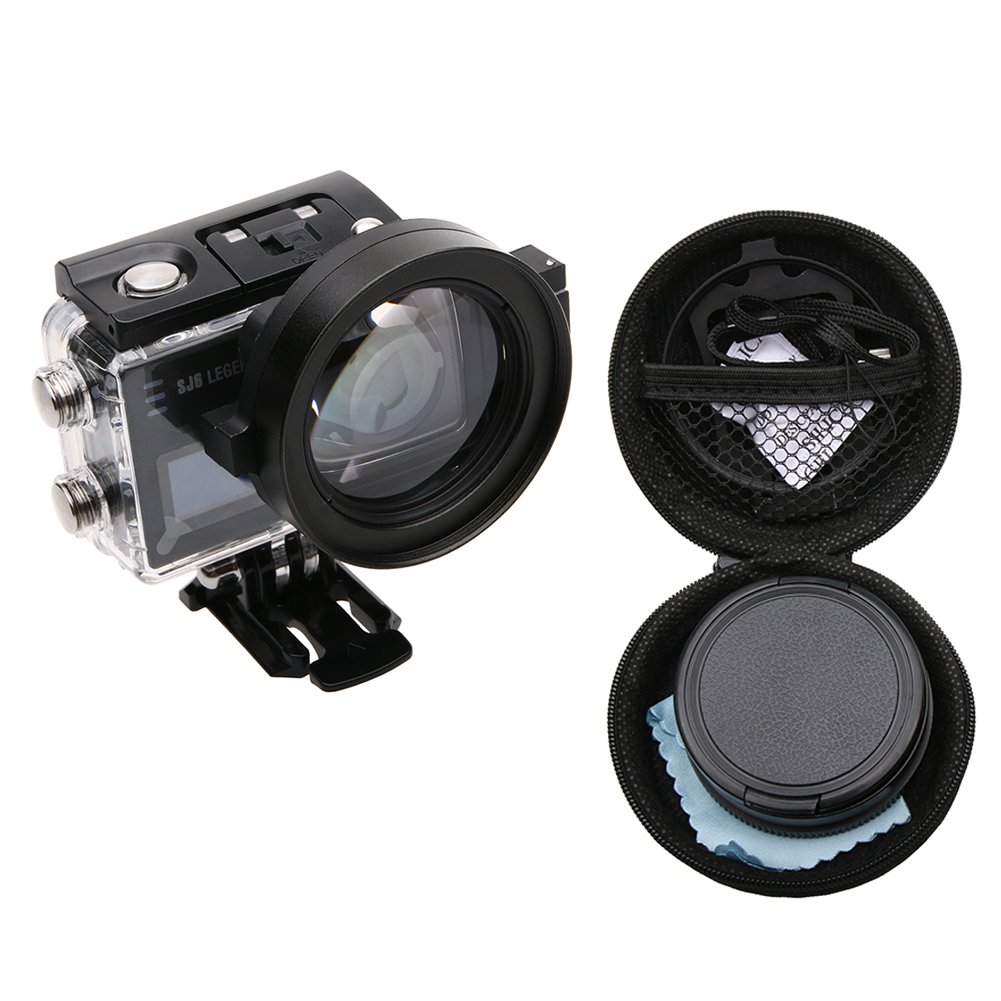 Meijunter 58mm Macro 16X Magnification for SJCAM SJ6 Legend Action Camera, HD Macro Close-Up Filter Lens 16X Magnification Accessories Meijunter Electronics Co. Ltd.