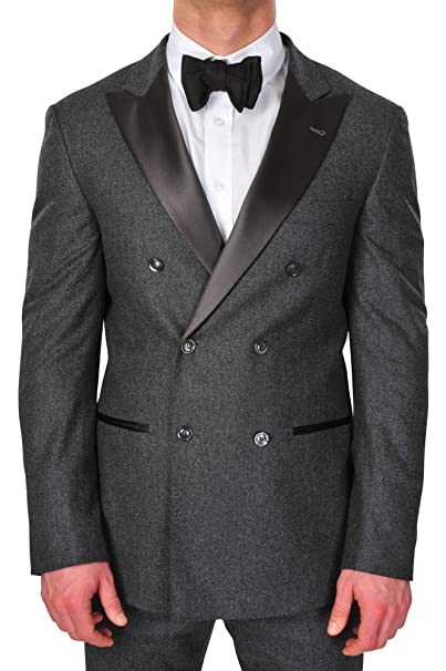 Pantalón Oscuro Hombre Cucinelli Blazer Traje Gris Brunello YpP6x1qAnw