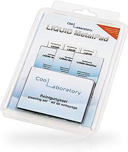Coollaboratory Liquid MetalPad 3xCPU / 3xGPU + Cleaning kit
