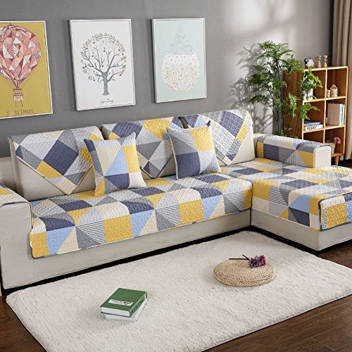 Amazon.com: MRZHW Sofa Covers Sofa Towel Summer Thin,Four ...