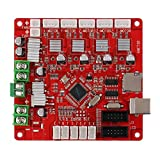 Detectoy V1.0 Compatible Ramps1.4 3D Printer Controller Board Main Control Panel Support Heated Bed 3D Printer Parts Motherboard