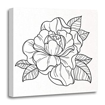 Amazon Com Emvency 16 X16 40x40cm Canvas Painting Wall Art