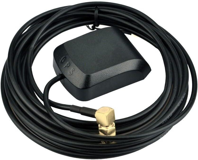 WTAntenna Super Search GPS mejorado Se/ñal de Beidou Antena externa activa 26dB 3 metros de longitud Puerto SMA para el coche NEO-6M U-BLOX