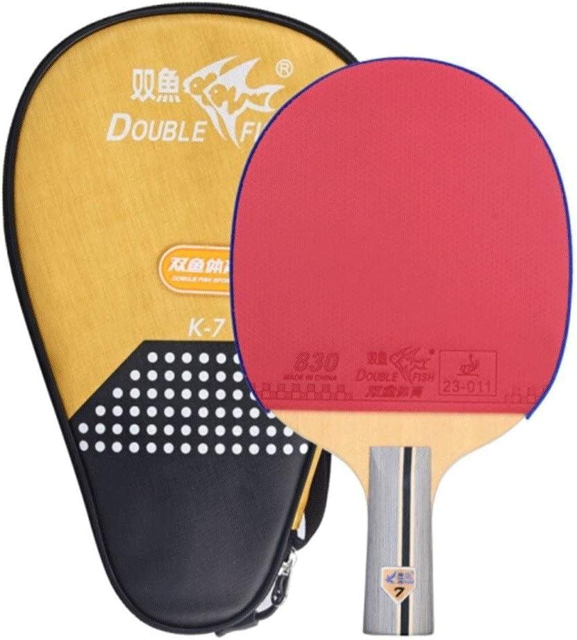 Chenjinxiangou01 - Raqueta de Tenis de Mesa (función Atril, Doble Cara, antiadhesiva, Apta para Aficionados, Entrenamiento, Entretenimiento y Juegos), Horizontal Shot: Amazon.es: Deportes y aire libre