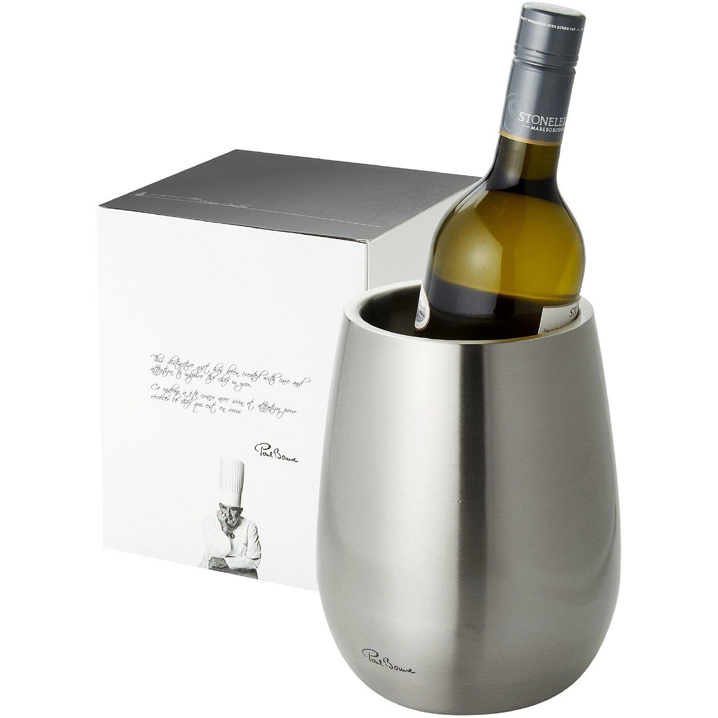 PAUL BOCUSE - Seau a vin - argent