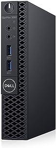 Dell Optiplex 3060 Micro PC Desktop, Intel Core i5-8500T 2.1GHz 6-Core (Hexa Core), 16GB DDR4 RAM, 256GB SSD, Win 10 Pro