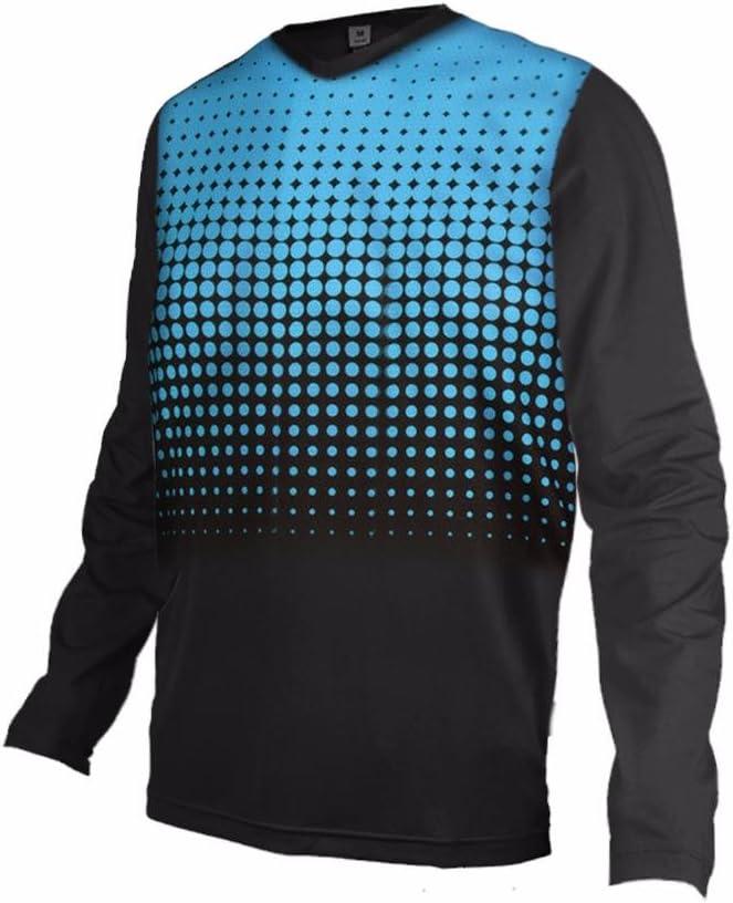 Uglyfrog 2017 Uomini Racewear Jersey MTB//Downhill Cycling Jersey Maniche Corta DH maglia Motocross Offroad DXM19