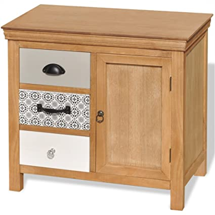 Outstanding Amazon Com Festnight Wood Buffet Sideboard Storage Cupboard Download Free Architecture Designs Terchretrmadebymaigaardcom