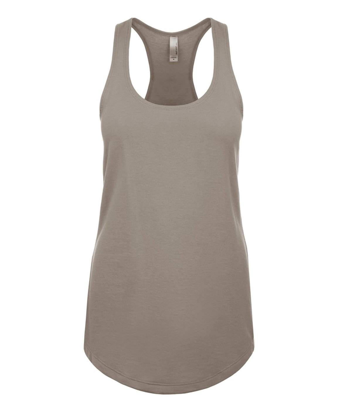 Next Level Ideal Racerback Tank Warm Gray X-Large (Pack of 5)
