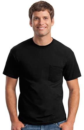 315fcb3a17c72 Gildan Men s Pocket T-Shirt (Pack of 3)
