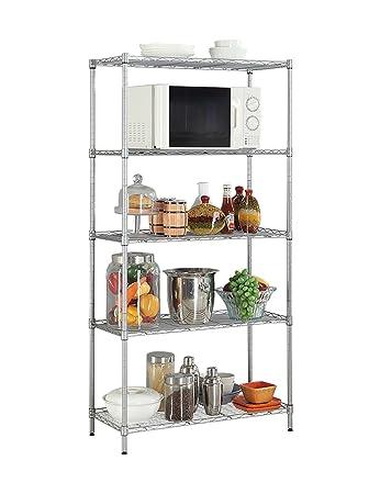 Lhp Regale Küche Regal Aufbewahrung Regal Mikrowelle Ablage Regal