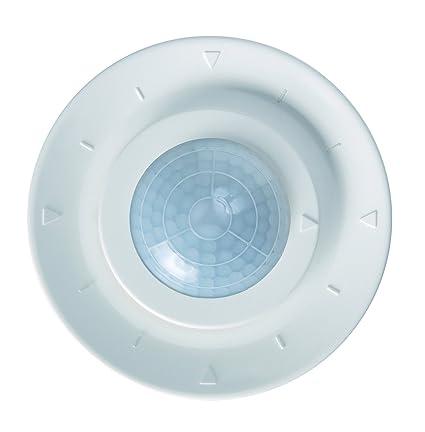 Theben luxa 103-360/2 - Detector presencia empotrar diámetro 7m 2 canal angulo