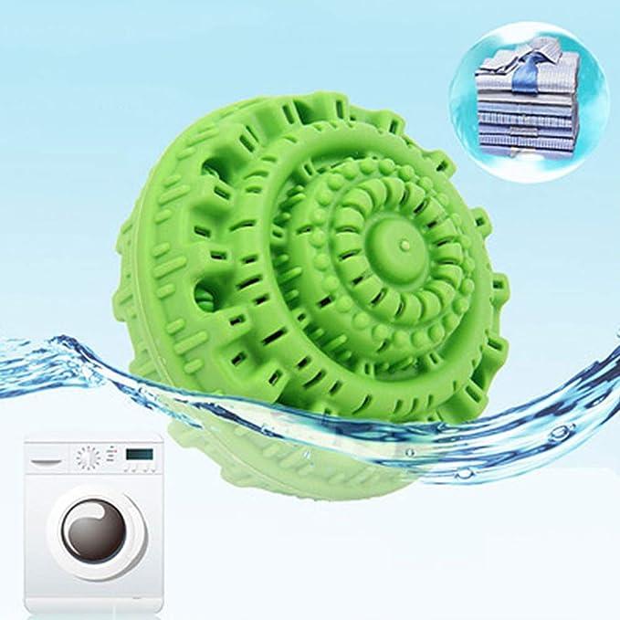 Amazon.com: WZZZZ - 4 bolas de lavandería, reutilizables ...