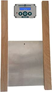 ChickenGuard Standard Automatic Chicken Coop Pop Door Opener & Door Kit Combo | Outdoor/Indoor Auto Door Opener, Chicken Coop Accessories