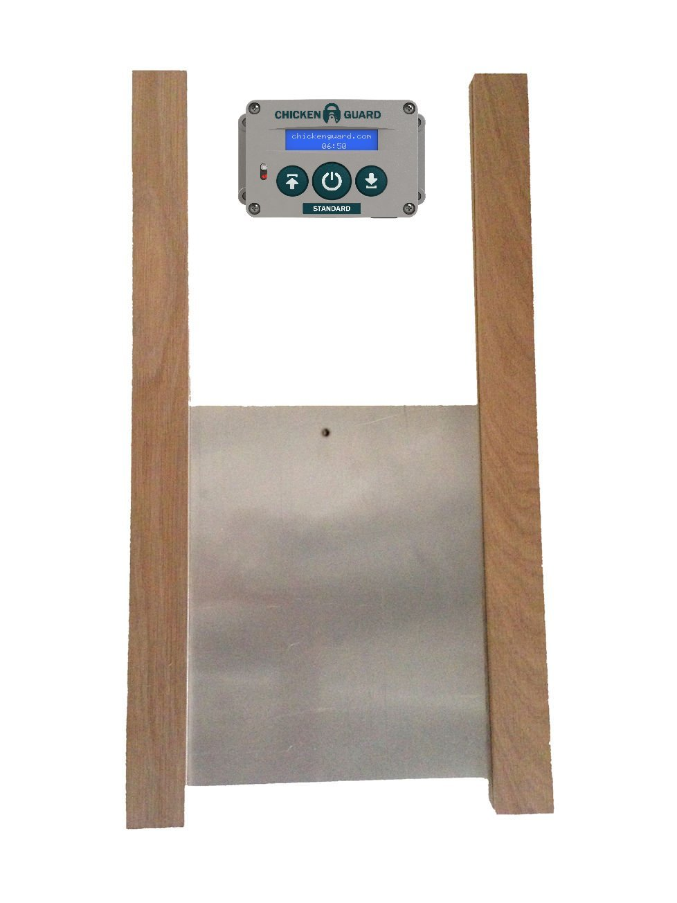 Standard Automatic Chicken Coop Pop Door Opener Door Kit Combo Outdoor Indoor Auto Door Opener, Chicken Coop Accessories by ChickenGuard