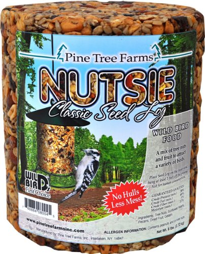 Pine Tree Farms Nutsie Classic Seed Log, 5 lbs., Pack of 6 by Pine Tree Farms