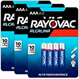 18 Pilhas AAA Palito Alcalina Rayovac 3 Cartelas C/ 6 Unidades