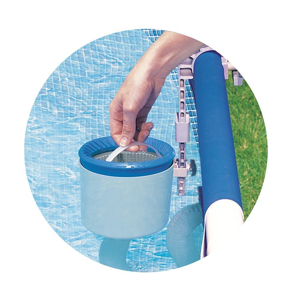 INTEX Deluxe Wall Mount Swimming Pool Surface Skimmer by Intex