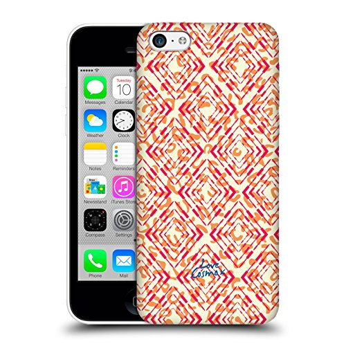 Official Cosmopolitan Leopard Aztec Brights Hard Back Case for Apple iPhone 5c