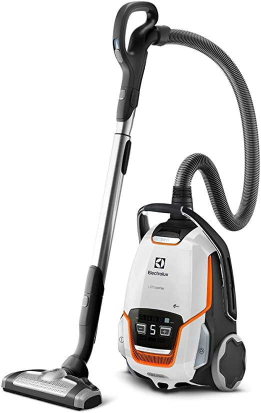 Electrolux ZUOANIMAL+ Aspiradora con bolsa, especial para mascotas, con cepillo AeroPro Mini Turbo, 850 W, 5 litros, 66 Decibelios, Blanco hielo: Amazon.es: Hogar