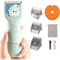 New Baby Hair Clippers- Cordless & Waterproof Chargeable, Children with Autism, Haircut Kit for Kids Infants,Dog