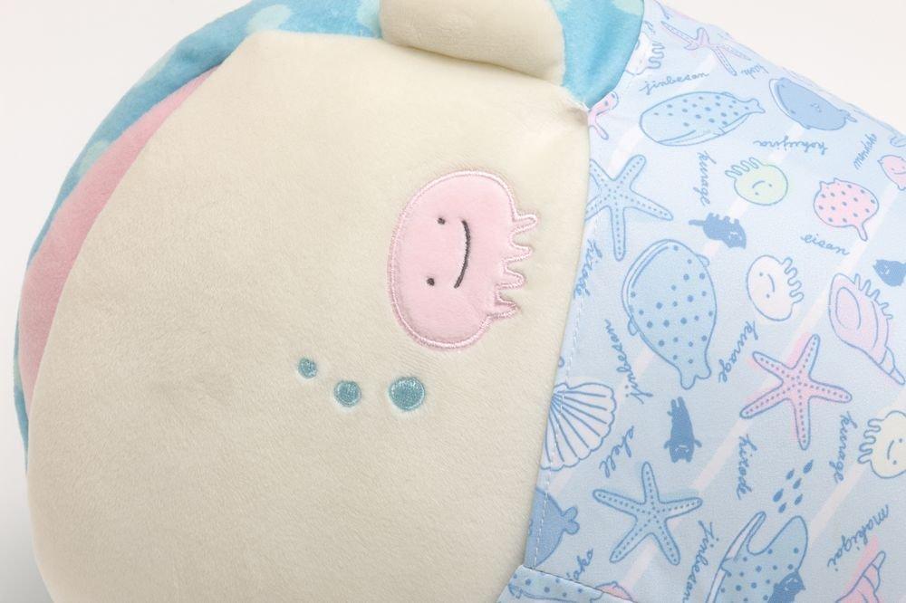 Jinbesan Super Mochi Mochi Hugging Pillow by San-X (Image #4)