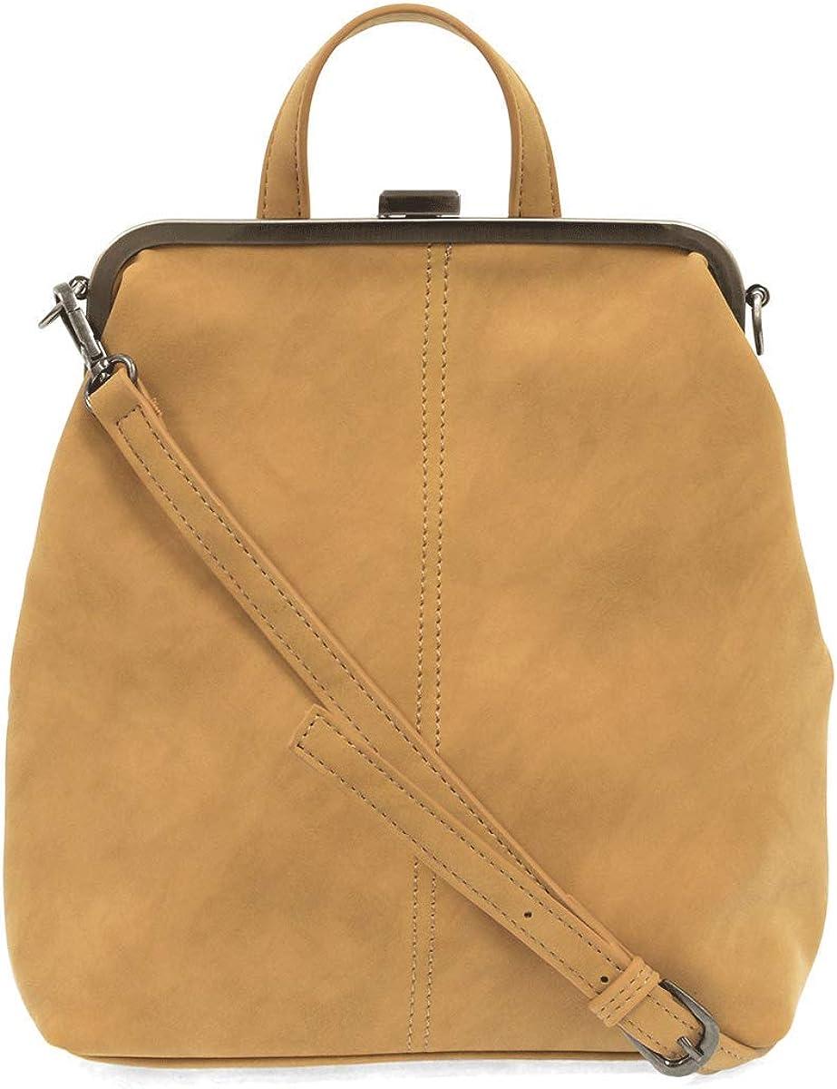 Joy Susan Phyllis Nubuck Frame Convertible Backpack