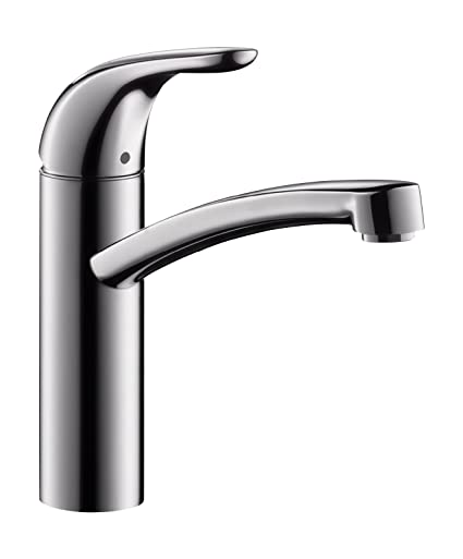 Hans Grohe Focus E 31784 Low-Pressure Single-Lever Mixer Tap for ...