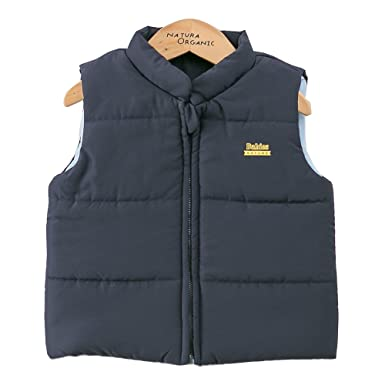 85acc0d78a07 Amazon.com  Padding Vest Snowsuit Dark Navy Baby Boy 100% Certified ...