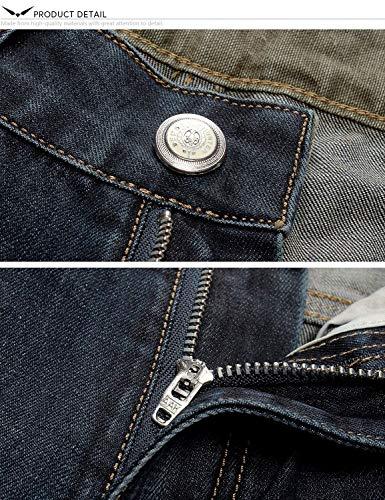 Tagliare Denim Serie Destroyed 802r Jeans Fit Dritto Regular Pantaloni In Ragazzi I Uomini Di Degli Classiche Fori 802r5xblau 8wnpqY5
