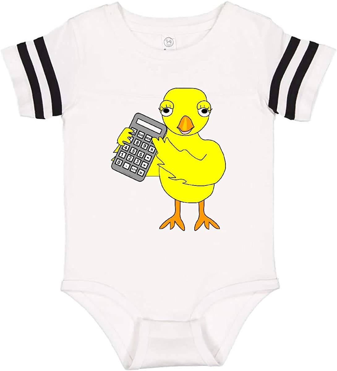 inktastic Accounting Chick Infant Creeper