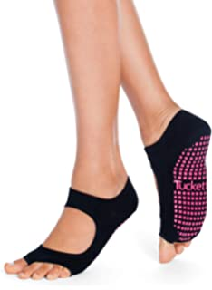 Amazon.com: Yoga Socks Non Slip Skid Socks with Grips ...