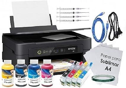 Kit Impresora SUBLIMACIÓN A4 XP-2100, Recargables, 4 X 100 ML ...