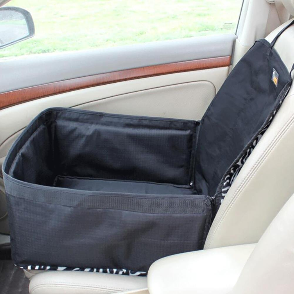 A Myyxt Dog Car Seat Cover Waterproof Back Seat Cover Non-Slip Travel