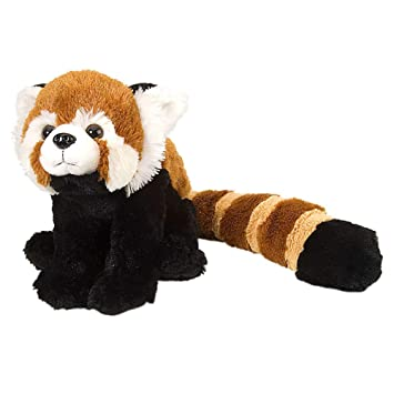E-Chariot Soft Toys Red Panda with Tail Plush Stuffed Animal Cuddlekins by Wild Republic (10945) 12 Inches
