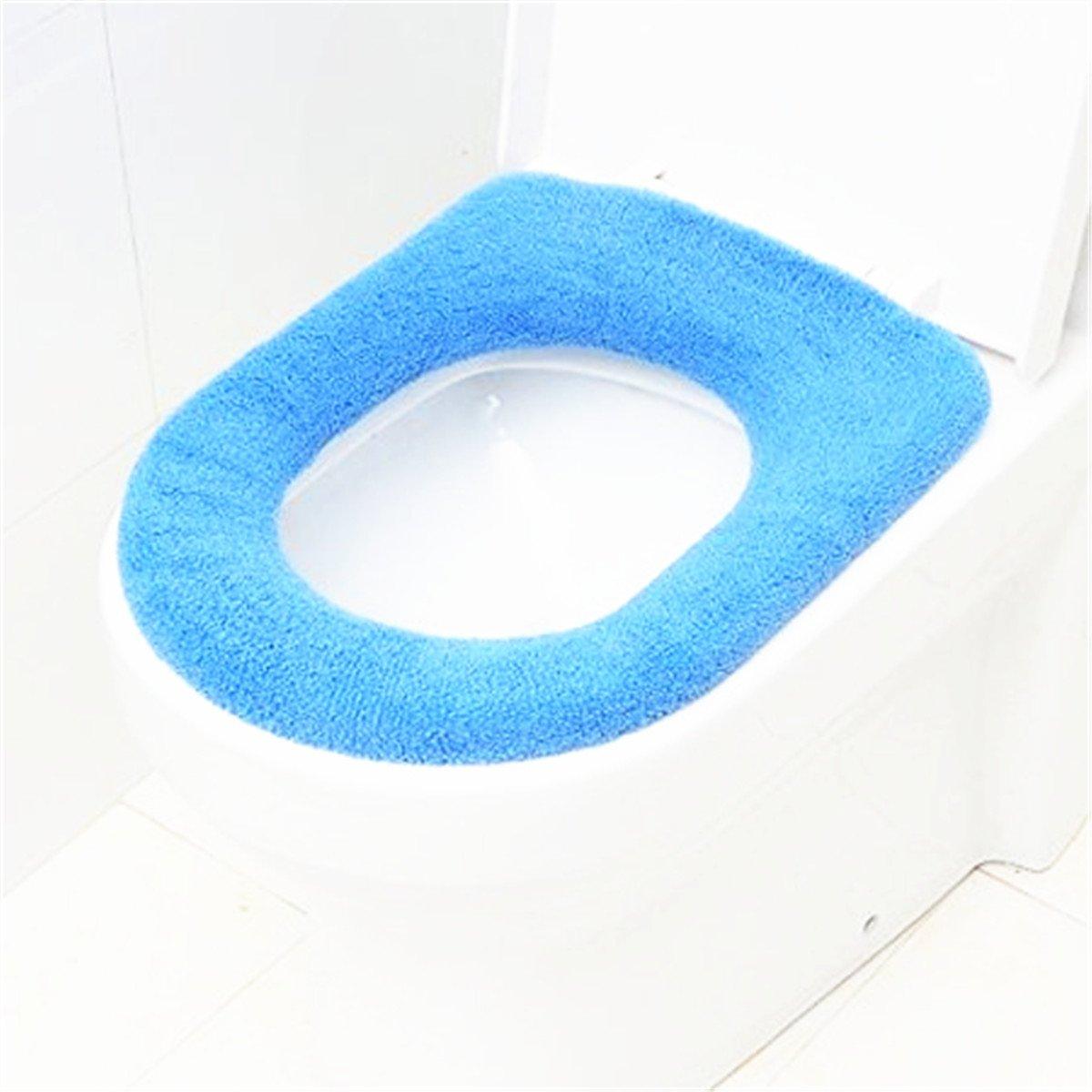 Dark Blue Toilet Seat Bemis elongated toilet seat Colonial