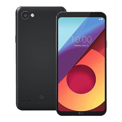 LG Q6 negro pantalla de 5.5 3GB Ram 13MP 32GB LTE Desbloqueado Teléfono Inteligente Móviles y smartphones
