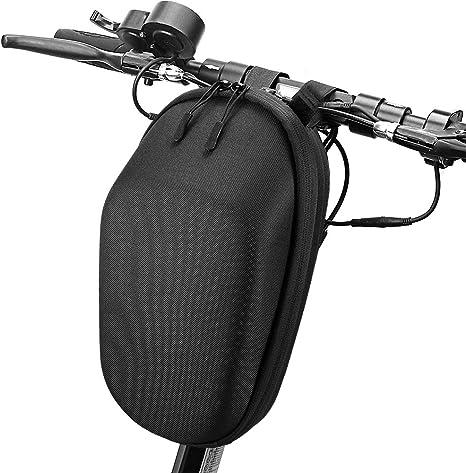 Blusea Moto Borsa Scooter Bag, Scooter Tunnel Bag, Skateboard Borsa per Monopattini Xiaomi Mijia M365, Scooter Elettrico Frontale Borsa e Strumenti Borsa per Cellulare