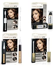 Cover Your Roots Hair Touchup Megapack - 4 Piece Set - Black