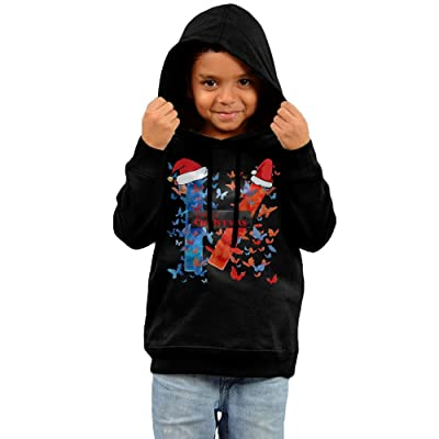 mhyl kids twenty one band pilots christmas boys girls hoodies black