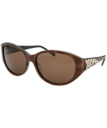 fab3cf6cb5 Image Unavailable. Image not available for. Color  Judith Leiber Designer Sunglasses  JL5002-02 ...