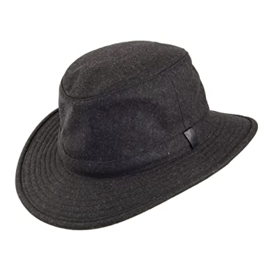 bba86044 ... purchase tilley hats ttw2 tec wool hat charcoal 8p 9eed2 33c16