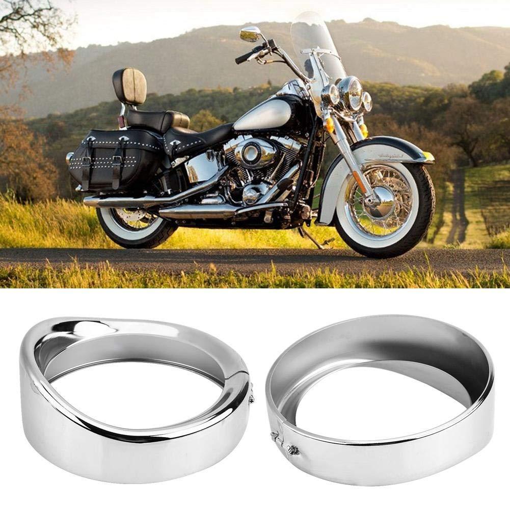 17,8 cm per FLD Trike Road King KIMISS Staffa di montaggio ad anello per fanali moto
