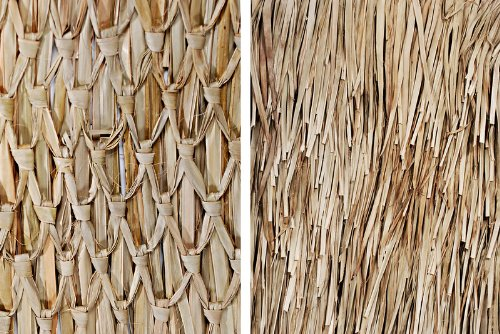 """30""""x8' Mexican Palm Thatch Roll"""